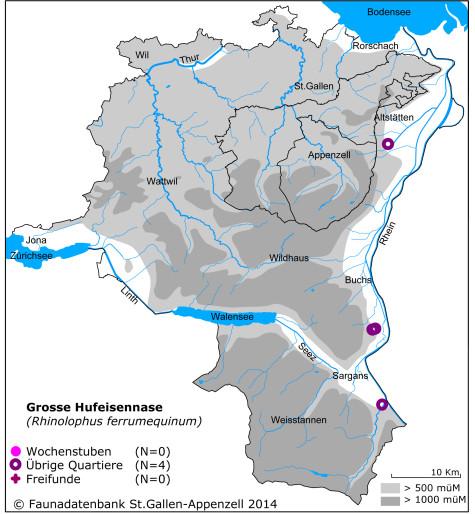 Fledermauskarte_Grosse Hufeisennase