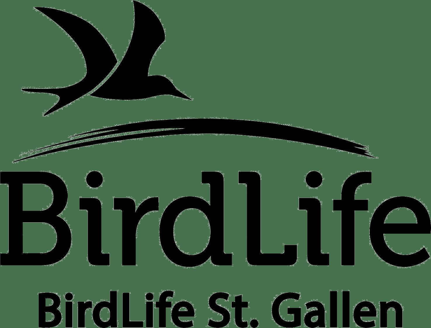 Logo: BirdLife St.Gallen